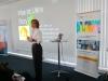 Dr. Ute Hillmer bei ihrer Präsentation