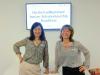 Christine Decker und Angela Lill freuen sich über die gelungene Veranstaltung!