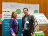 Unternehmerin Simone Schwille und Thomas Rehmet von der Hochschule Reutlingen