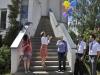 Auch die Ballons der Sponsoren steigen erfolgreich auf (© Bildnachweis: de Maddalena)