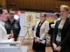 Sie wurde von allen erkannt: Nadine Antic, Geschäftsführerin der Global Flow GmbH (ganz rechts) an Stand der TF R-T