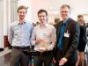 Die Gewinner des Elevator Pitch Wettbewerbs: das Team von e-buddy aus Stuttgart (Bildnachweis flickr)