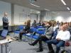 Dr. Christoph Pfefferle, Geschäftsführer der TF R-T, begrüßt die zahlreichen Teilnehmer/innen