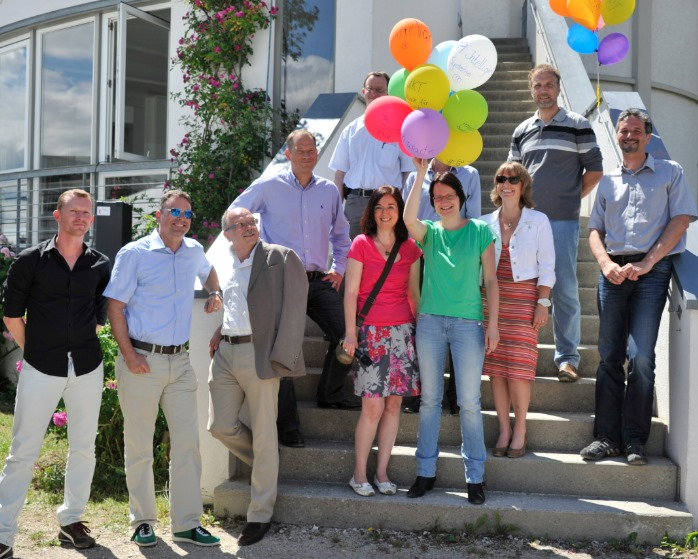 Ein fröhliches Fest mit den Mietern: die ersten 10 Jahre sind geschafft!