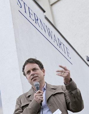 Ingmar Hoerr hält die Laudatio (Bildquelle: BioRegio STERN)