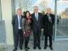 Freuen sich über den Besuch des Ministerpräsidenten Winfried Kretschmann: Rainer Hawel, TTR; Christine Decker und Wolfgang Kleinmann, TF R-T