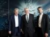 Gute Laune nach der Pressekonferenz: MP Winfried Kretschmann, Dietmar Hopp und OB Boris Palmer (© Bildnachweis: Faden/BioRegio STERN Management GmbH)