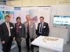 Foto 04: Dr. Klaus Eichenberg, Christine Decker, Dr. Christoph Pfefferle, Stefan Müller, v.l.n.r.