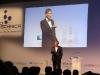 Foto 13: Forschungsminister a.D. Riesenhuber bei der Preisverleihung des European Biotechnica Awards an die Schweizer Technologietransfer-Organisation Unitectra AG
