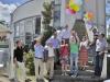 Mit vielen guten Wünschen für die Firmen und Forschungsgruppen werden die beschrifteten Ballons in den Himmel geschickt (© Bildnachweis: de Maddalena)
