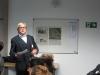 """Moderator Hans-Martin Ehmann beim """"Teaching"""""""