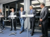 Das Podium in Aktion mit Theo Eißler, Dr. Sebastian Schultheiß, Dr. Ingmar Hoerr, Dr. Dirk Biskup und Dr. Christopher Gohl (v.l.n.r.)