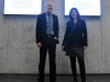 Wolfgang Kleinmann und Christine freuen über sich die gelungene Veranstaltung