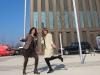 Christine Decker und Angela Lill starten beschwingt in die Messe
