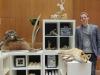Der Tierpräparator Armbruster aus Mössingen hatte sehenswerte Exponate dabei