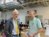 """Immer auf der Suche nach neuen """"Jungen Innovatoren"""": Stefan Kieffer und Dr. Rainer Körber (KIT)"""