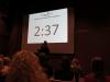 Voller Saal beim StartUp-Wettbewerb: Der Elevator Pitch beginnt!