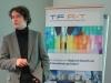 Dr. Carsten Hutt von SciConomy beim Eröffnungsvortrag