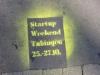 Kreative Werbung mit (legalen) Kreidegrafitti in ganz Tübingen