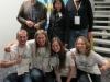 Ende gut – alles gut: Das zufriedene Orga-Team und die Juroren Pietro Triscari, Christine Decker, Nils Högsdal am späten Sonntagabend